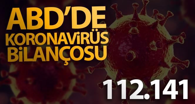 ABD'de koronavirüse bağlı can kayıpları 112 bin 141'e ulaştı