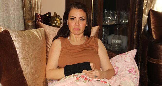 Otomobil çarpan ünlü şarkıcı Lara o anları anlattı