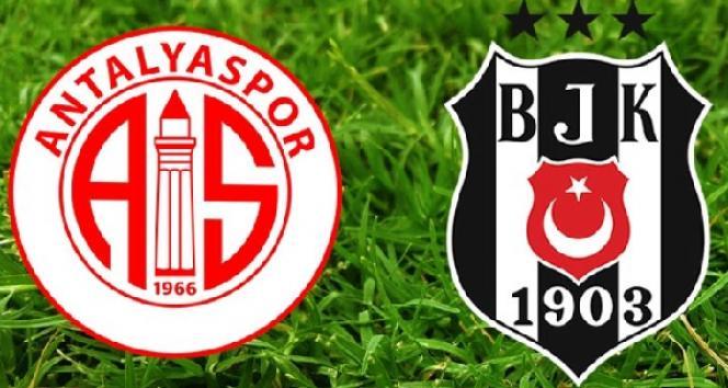 Beşiktaş Antalyaspor maçı saat kaçta?