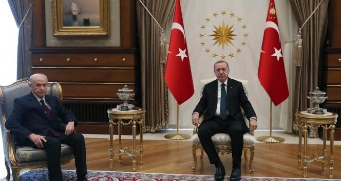 Cumhurbaşkanı Erdoğan, Bahçeli'yi kabul etti!