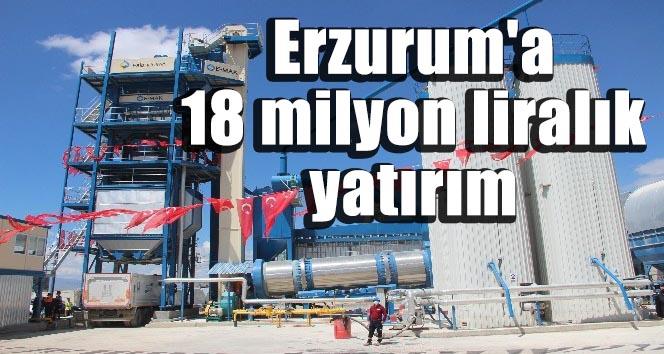 Erzurum'da18 milyon liralık yatırımın toplu açılışı yapıldı