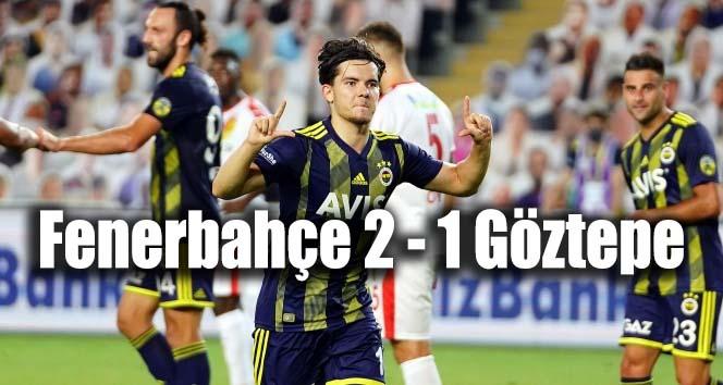 Fenerbahçe 2 – 1 Göztepe Maç Bitti