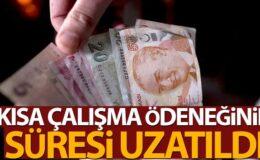 Cumhurbaşkanı Erdoğan Açıkladı, Kısa Çalışma Ödeneği 3 Ay Uzatıldı
