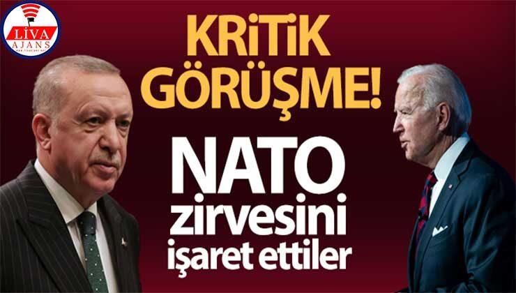 Cumhurbaşkanı Erdoğan ve ABD Başkanı Biden telefonda görüştü