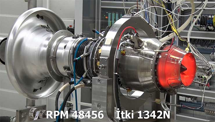 Milli TEI-TJ300 motorundan dünya rekoru