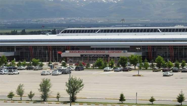 Erzurum hava ulaşımında pozitif seyir