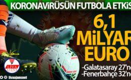 Korona virüsün Avrupa futboluna faturası 6,1 milyar Euro