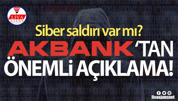 Akbank CEO'su Hakan Binbaşgil'den açıklama: 'Siber saldırı yok'