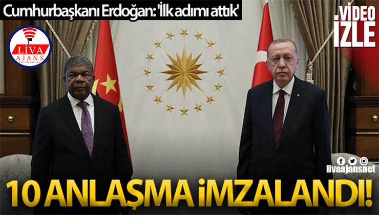 Cumhurbaşkanı Erdoğan'dan Angola açıklaması