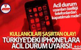 Türkiye'deki bazı iPhone'lara acil durum uyarısı!