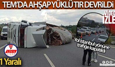 TEM İstanbul yönüne trafiğe kapatıldı