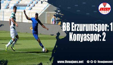BB Erzurumspor: 1 – Konyaspor: 2