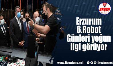 Erzurum 6. Robot Günleri yoğun ilgi görüyor